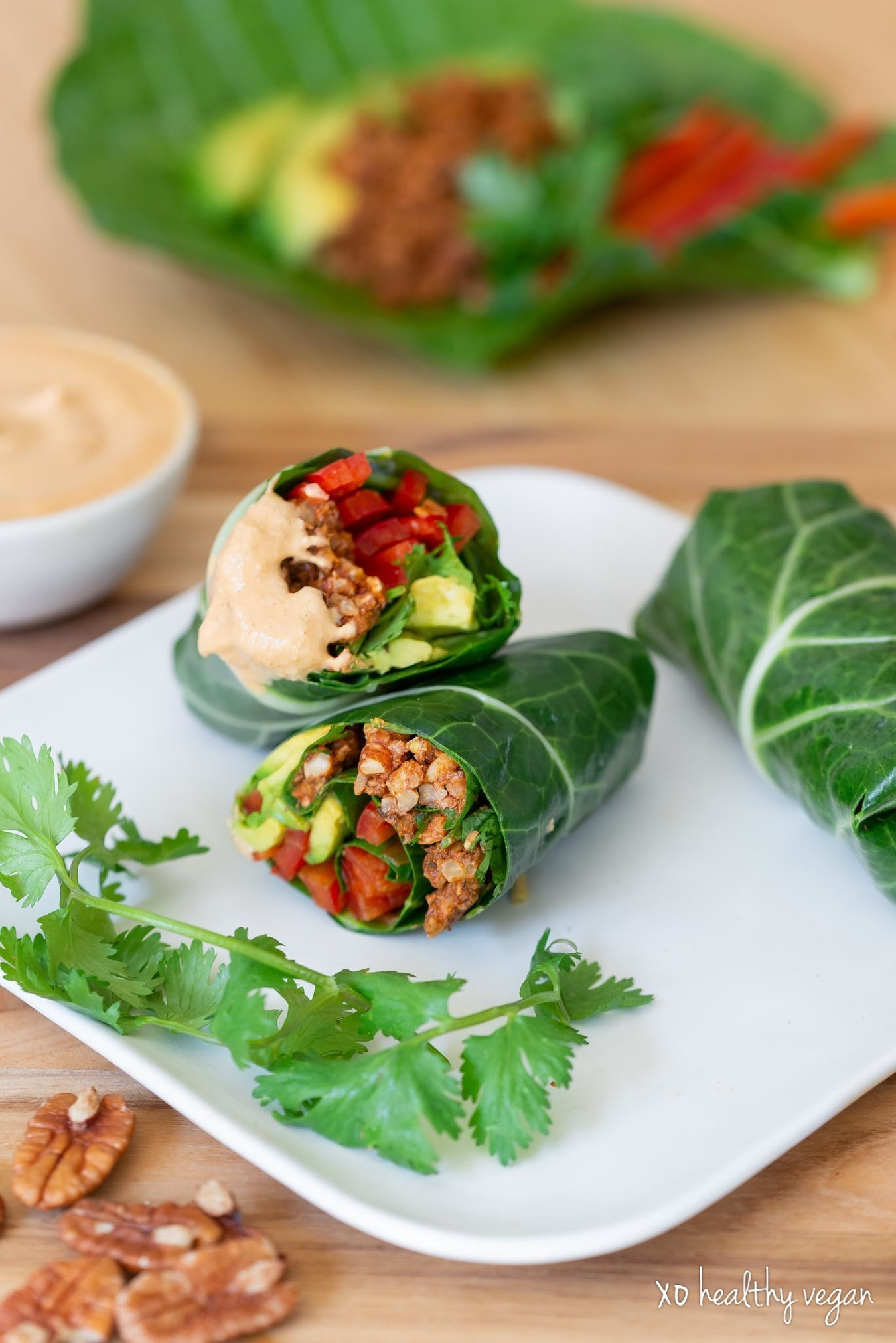 Healthy-Vegan-Mexican-Collard-Wraps-7